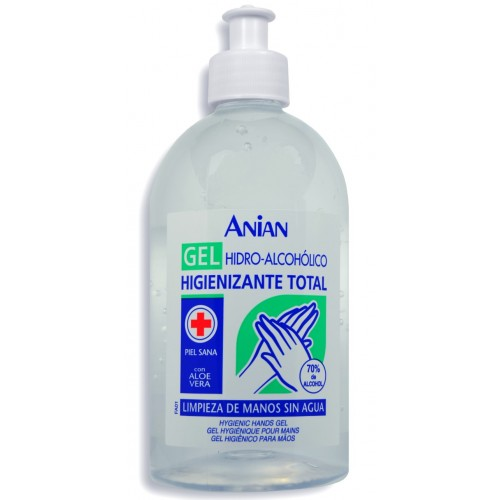 Gel hidroalcoholico anian 500ml 70%